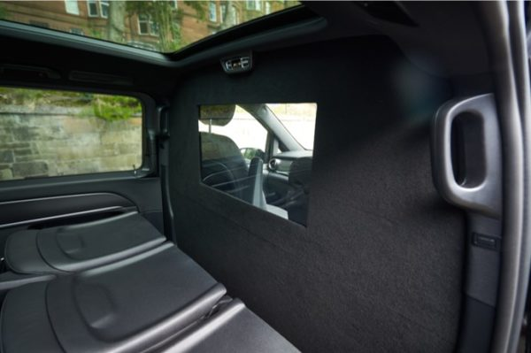 Mercedes V Class Covid-19 Safety Partition