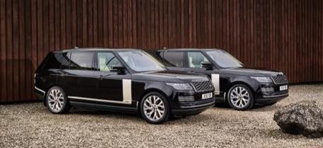 Black Range Rover Autobiography Chauffeur Car