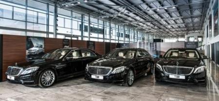 Mercedes S Class Executive Chauffeur Car