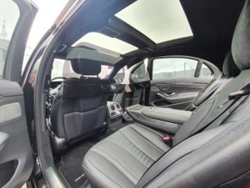 Mercedes S Class Coid-19 Partition